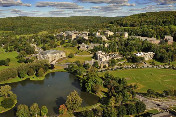 Colgate University - Aerial Photograph