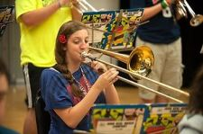 Trombone Practice - Eastern U.S. Music Camp
