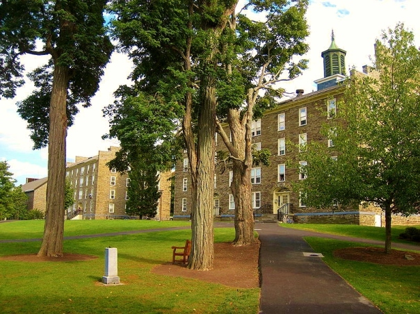 Colgate University East and West Dormitory Halls