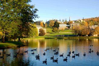 Colgate University - Taylor Lake. Photo by Timothy D. Sofranko