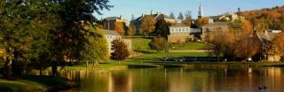 colgate-university-pond