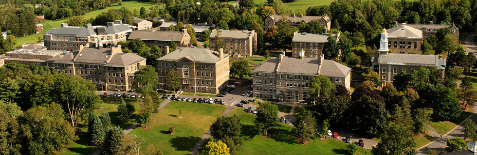 Colgate University - Aerial View of Campus