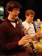 Clarinet Practice at Eastern U.S. Music Camp