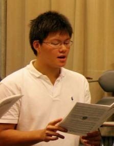 Singing Practice at Eastern U.S. Music Camp