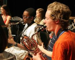 Music Practice at Eastern U.S. Music Camp
